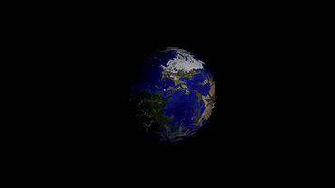 Photo Gaia a view from space
